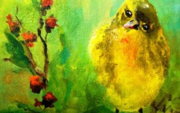 Tennessee Warbler (sold)