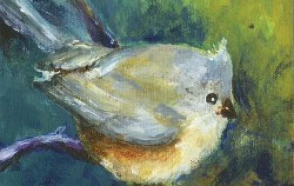 Tufted Titmouse (Sold)