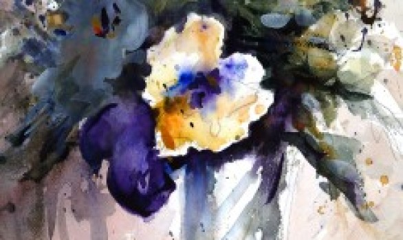 Pansy in a Vase