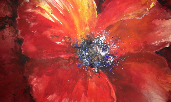 Red Poppy (sold)